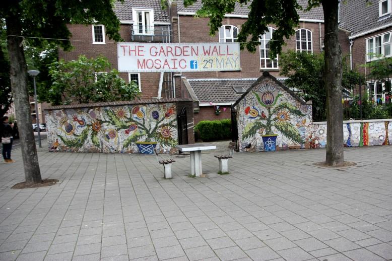 Community art mosaic