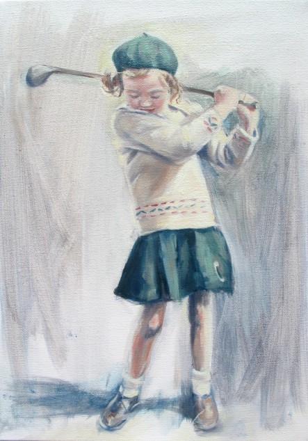Wilma van der Meyden - painted portraits