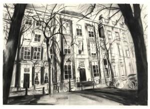Wilma van der Meyden - Lange Voorhout Drawings