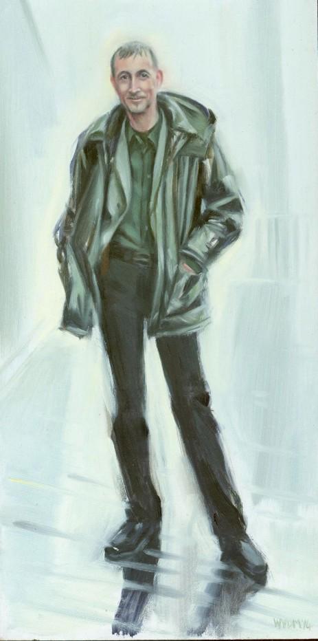 Wilma van der Meyden - portrait painting